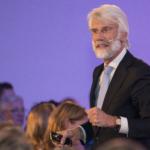 Spreker neurowetenschapper Erik Scherder, publiek, IM2019