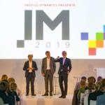 Kilian Wawoe, Hans de Jong, Erik Scherder, sprekers IM2019